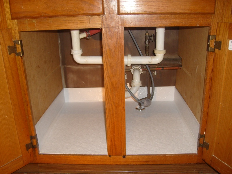 Protection For Under Kitchen Sink Cabinet